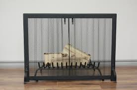 fireplace screen anvil fireside heritage curtain mesh screen 350 00