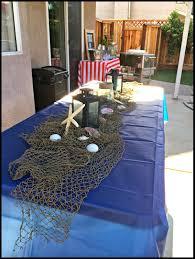 Decorative Fish Netting Dodd It Up A Nautical Birthday Owen Is One