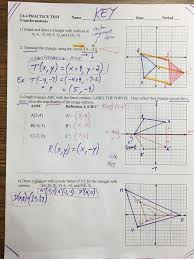 Produce cd and meet the circle at e join oa and ac angle apc = 60 deg (centre and circumference angles) oa = ac = oc join be angle cab = angle ceb = 70 deg (ce = cb and angle bce = 40deg) therefore ad. Geo Luriemst Chapter 4 Practice Test No Multiple Choice