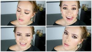 cheryl cole inspired makeup tutorial for zoellabeauty tanya burr glamour tips