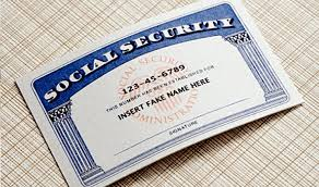 Social Fake For Sale Number Card Ssn Security