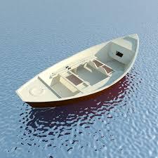 wooden boat max 2016 3d model max obj mtl 3ds fbx c4d ma mb 1