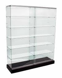 frameless glass display showcases 1500mm 1800mm fvu 1500