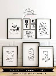 wall art for bathroom uk