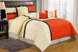 orange bedding sets ease bedding with