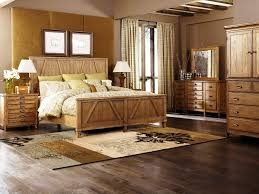 Image of: Rustic Wood Bedroom Furniture