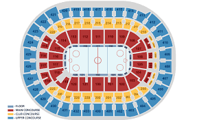 Verizon Center Seating Chart For Hockey 58 Competent Capitals Seating Chart With Rows