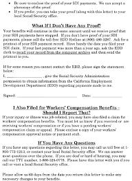 Edd Benefits Chart Ssa Poms Di 52135 030 California Public Disability