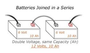 understanding battery configurations battery stuff batteries joined in a series