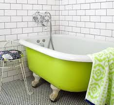 Painted Clawfoot Tub
