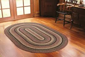 wool braided area rugs inexpensive big country style foot round navy throughout oval kitchen plans 2