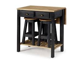 Ensemble Table Pliante 2 Tabourets En Bois Massif Sharona Coloris