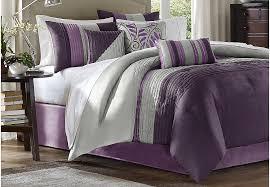 image of plum comforter set ideas