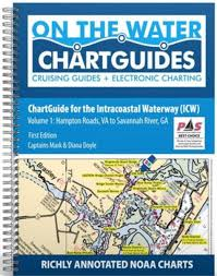Intracoastal Waterway Mileage Chart On The Water Icw Chartguides More Great Work From Mark