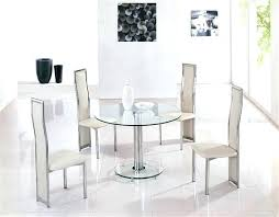 smoked glass round dining table round glass dining table extension round frosted glass dining table with