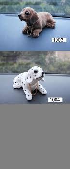 kayme bobble head dog car dashboard doll auto shaking head toy ornaments nodding dog car interior