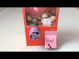 Squishy Vending Machine Delectable Homemade Squishy Vending Machine With Loop Control YouTube For