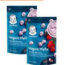Top 8 sữa chua khô cho bé bổ dưỡng và được yêu thích nhất