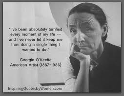 Georgia O Keeffe Quotes Custom Georgia O'Keeffe Inspiring Quotes By Women