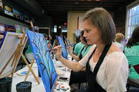 thank you to painting with a twist for a wonderful evening of laughter creativity and fun