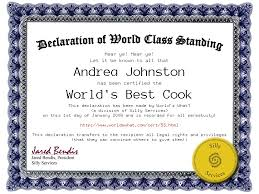 Superlative Certificate Worlds What