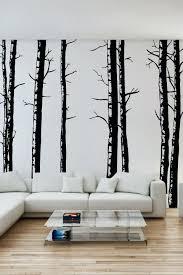 birch tree wall art canada