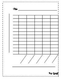 Blank Bar Graph Blank Bar Graph By Learning With Leann Teachers Pay Teachers