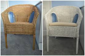 painting wicker furniture60 minute makeover Spray Painting our Nursery Wicker Chair  WELL