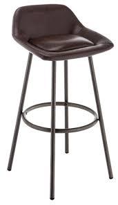 <b>Стул барный Woodville Bosito</b> vintage металл/искусственная кожа