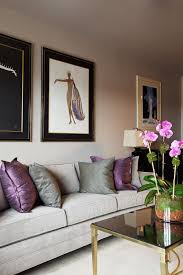 Small Picture How To Use Purple In Stunning Looking Living Rooms