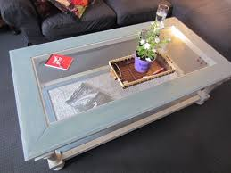 Shabby Chic White Coffee Table Shabby Chic Glass Top Coffee Table Casa9