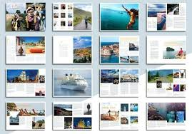 Travel Magazine Template Free Design Templates For