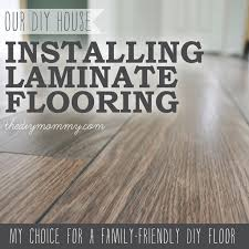 Installing Laminate Flooring By The DIY Mommy. (Allen + Roth Provence Oak  Laminate From Loweu0027s Canada) Want To Put Laminate Flooring Down