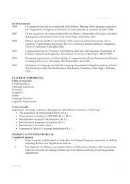 12 13 Academic Projects In Resume Example Nhprimarysource Com