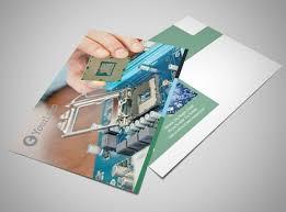 Computer Repair Shop Postcard Template | Mycreativeshop