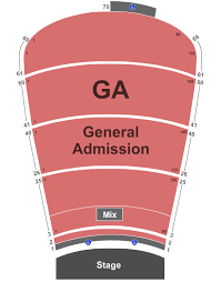 Red Rocks Amphitheatre Seating Chart Denver