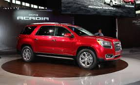 2013 GMC Acadia Photos and Info | News | Car and Driver