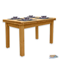 Table De Cuisine Rectangulaire En Pin 110x80 Allonges Meublespinfr