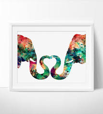 abstract painting elephant love watercolor print abstract watercolor painting large abstract art  on abstract watercolor wall art with abstract painting elephant love watercolor print abstract