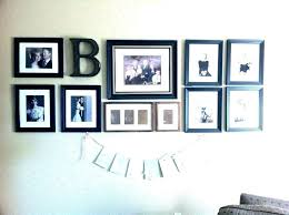 picture frame ge ideas for wall frames noel homes family layout photo collage template hanging fr