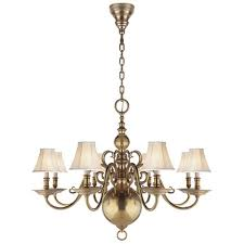 ralph lauren lighting fixtures. lillianne eightlight chandelier in natural brass ceiling fixtures lighting products ralph lauren home ralphlaurenhomecom t