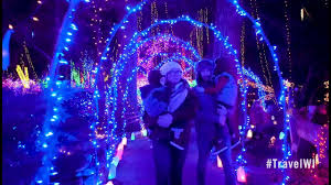Holiday Light Show At Rotary Botanical Gardens Light Up Your Holiday Spirit At Janesville S Rotary Botanical Gardens