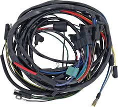 mopar parts electrical and wiring wiring and connectors 1968 barracuda engine front light harness 383 slant 6