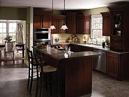 L Shaped Kitchen Island Ideas | ... From Aristokraft® Cabinetry, Shown In