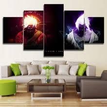 <b>5 piece canvas</b> art naruto