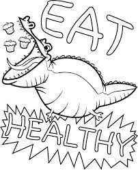 Healthy Foods Coloring Pages Healthy Food Coloring Pages Healthy