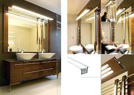 vanity strip lighting. Mirror Strip Lights Gray Double Floating Bathroom Washstand With Crystal Accent Vanity Lighting N