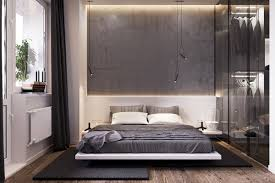 ... Bedroom furniture, Concrete Panel Wall Harsh, Or Unwelcoming, Lighting  Additions Like These Can ...