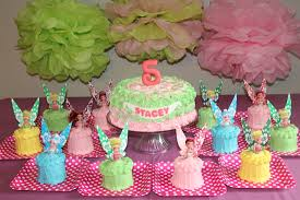 11 Disney Fairies Cakes For Girls Photo Disney Fairy Birthday