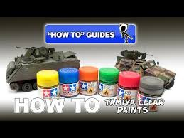 tamiya clear paints how to guide